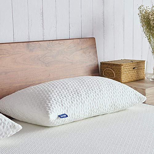 Sweetnight Pillows for Sleeping, Adjustable Loft & Neck Pain Relief-Shredded Certipur Gel Memory Foam Pillow with Removable Case,Bed Pillows for Side Back Stomach Sleeper, King Size