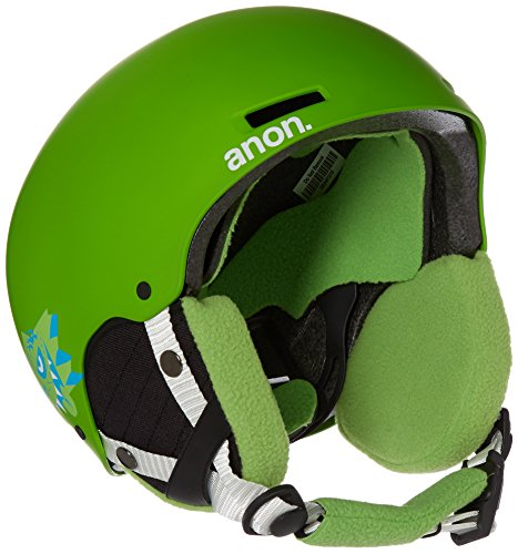 Anon Kids' Rime Helmet, Gremlin Green, Small/Medium