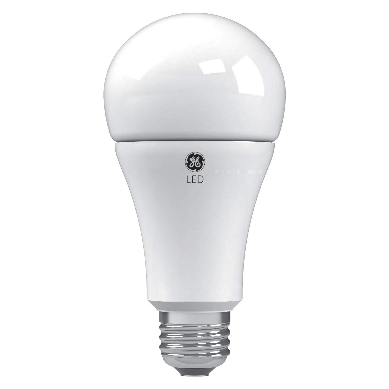 GE Lighting 24095 Soft White LED 3-Way 30/70/100-Watt Replacement A21 Bulb Medium Base