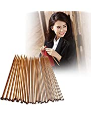 Apparel Accessories 36 in 1 Knitting Needle Carbonize Bamboo Crochet Knitting Needles Apparel