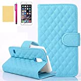 Note 3 Case, [Sheep Design] Top Grade PU Leather Wallet Case [Cards Slot] Stand Folio Cover High Impact Absorption Shell [Super Fit] Slim Skin for Samsung Galaxy Note 3 (Blue)