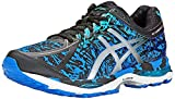 ASICS Men's Gel Cumulus 17 BR Running Shoe, Electric Blue/Silver/Blue Ribbon, 11 M US
