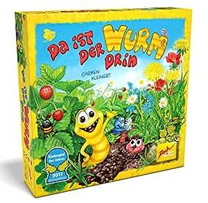 Zoch 601132100 - Juego de mesa Da ist der Wurm drin (instrucciones en alemán, francés, inglés e italiano)