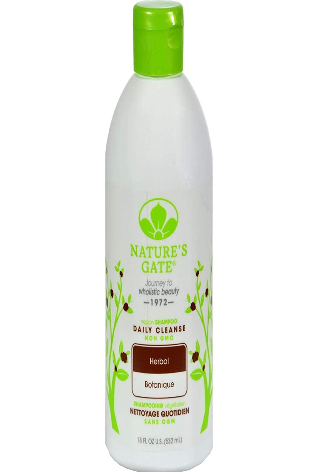 Nature's Gate Herbal Daily Cleansing Shampoo - 18 fl oz (Packaging May Vary)
