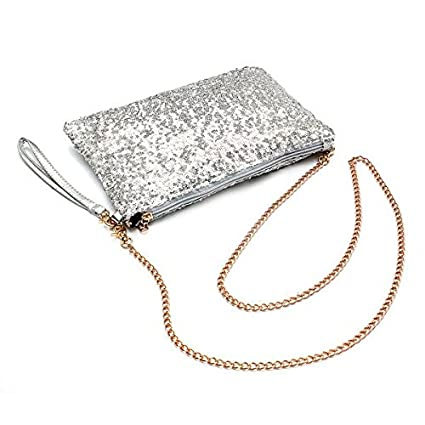 SODIAL Embrague Glitter Bling Lentejuelas Brillantes Bolso ...