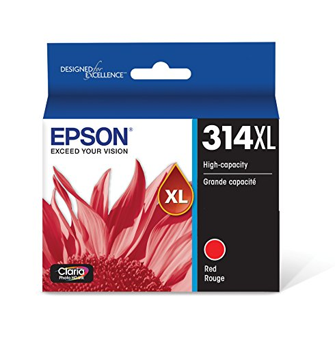 T314XL Claria Photo HD Ink - Red (T314XL Red)
