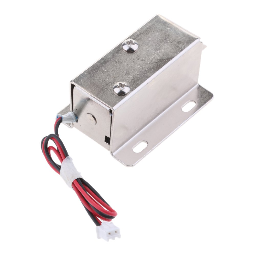 Baoblaze Premium 12V 0.83A Mini Electric Magnetic Electromagnetic Lock Door Access Entry Locker