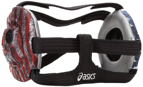 ASICS Unrestrained Wrestling Ear Guard (Faded Glory), One (Asics Wrestling Ear Guard)