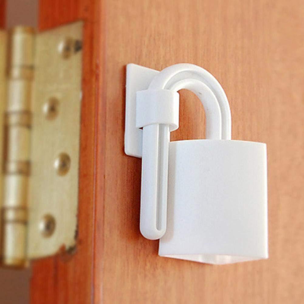 2 Pcs//Set B/éb/é Porte Couture Couture Enfant Finger S/écurit/é Protection Serrures Enfants Porte De S/écurit/é Anti-pincement Main Carte Obturateur Plug