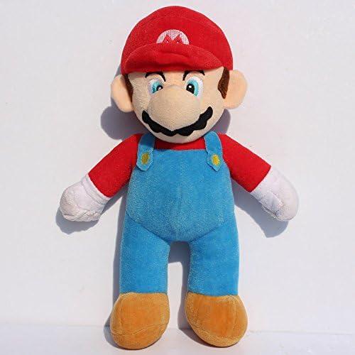 """Stand LUIGI /& MARIO Plush Doll Stuffed Toy 10/"""" 2 Pcs//Set New Super Mario Bros"""