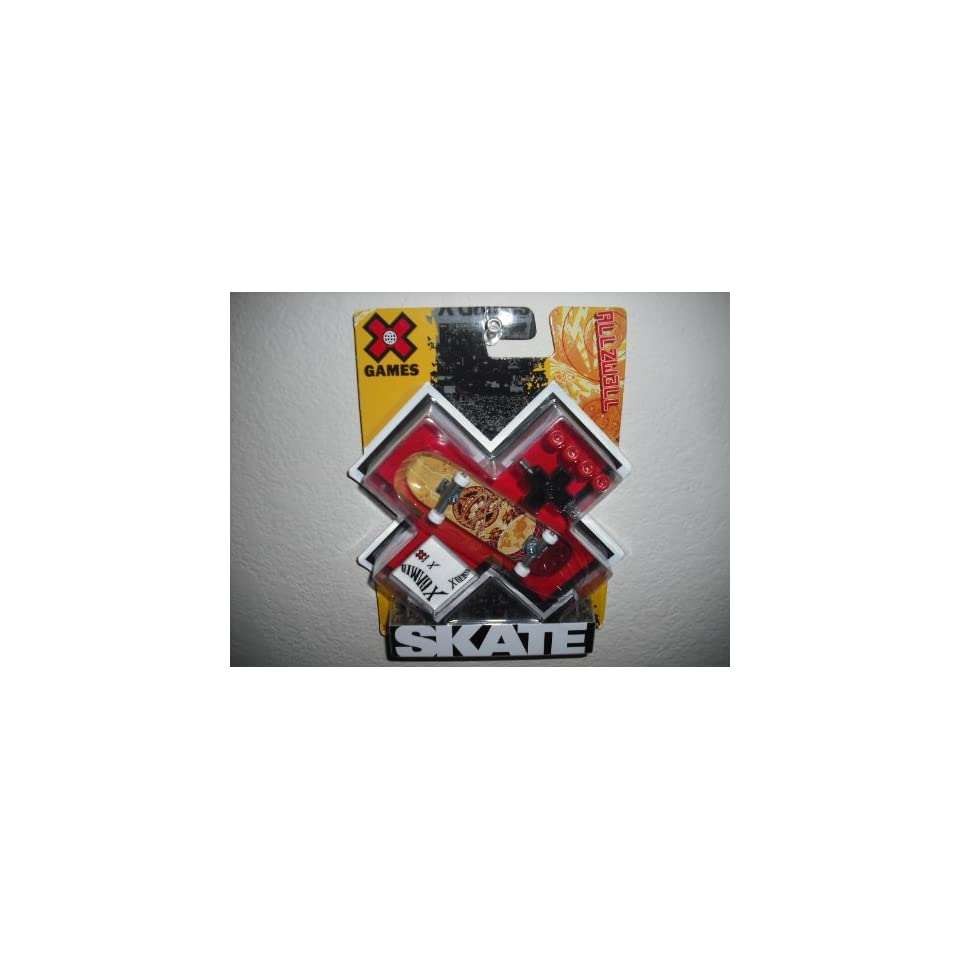 X Games Skate Allzwell 96mm Fingerboard
