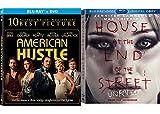 Jennifer Lawrence Set - American Hustle & Last House on the Left (Unrated) 2-Movie Bundle