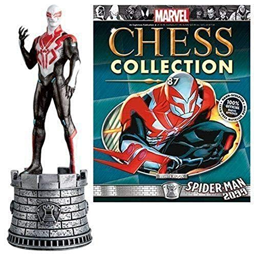 (Marvel Amazing Spider-Man 2009 White Rook Chess Piece with Collector Magazine)