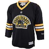Youth Boston Bruins Reebok Replica Alternate Jersey