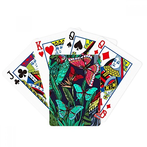 DIYthinker Flower Plant Leaf Bird Butterfly Poker Playing Card Tabletop Board Game Gift