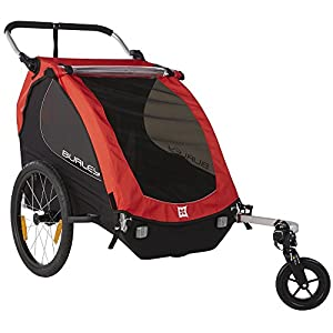 Burley Design Honey Bee Bike Trailer Red