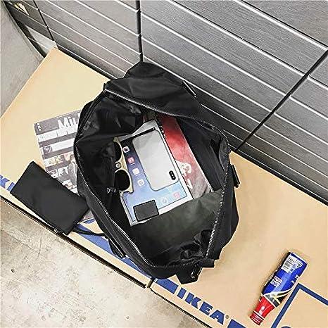 Amazon.com: KANEED Portable Travel Duffel Bag, Soft Nylon ...