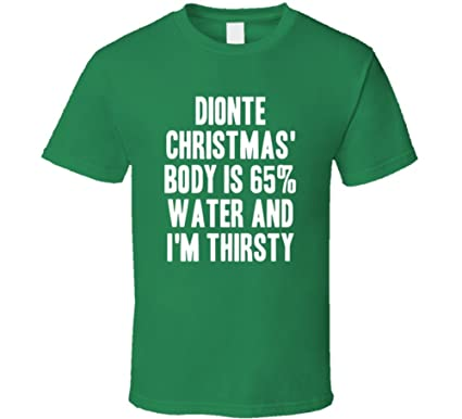 Dionte Christmas.Amazon Com Dionte Christmas Body Is Water Thirsty Love Boston