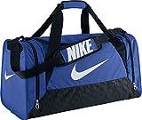 Nike Unisex Brasilia 6 Duffel Bag - Royal/Black/White, Moyen