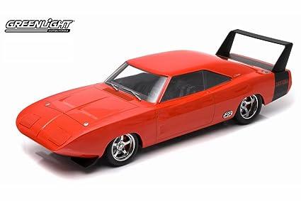 Amazon com: 1969 Dodge Charger Daytona, Orange - Greenlight