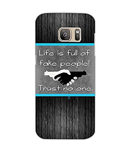 Samsung Galaxy S7 Edge Fake People Back Cover By Amazonin Electronics