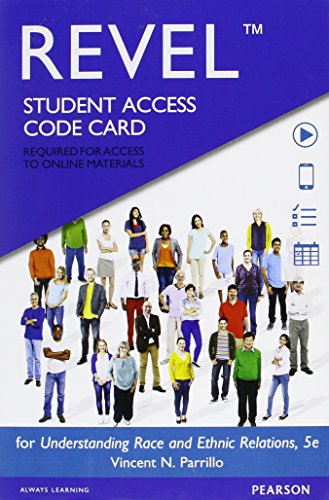 Revel for Understanding Race and Ethnic Relations -- Access Card (5th Edition)