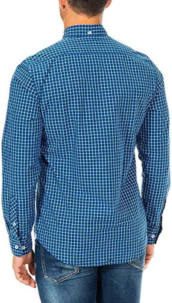 McGregor Camisa Hombre Azul/Blanco XXL (EU 56): Amazon.es: Ropa y accesorios