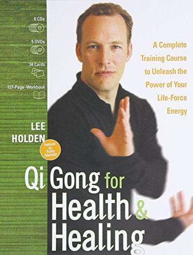 Qi Gong for Health and Healing: A Complete Training Course to Unleash the Power of Your Life-Force Energy by Lee Holden (2010-09-28)