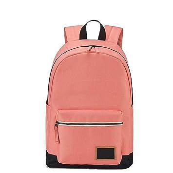 kaoling Mochila Moda para Mujeres Mochilas Viaje Ocio Mochila para NiñAs Contraste Color Adolescente Laptop Bagpack Mochilas Escolares Pink: Amazon.es: ...