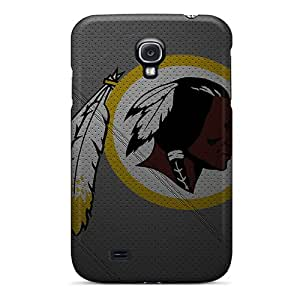 Samsung Galaxy S4 DxB10088RRlq Special Colorful Design Washington Redskins Series Shock Absorption Hard Phone Covers -KimberleyBoyes