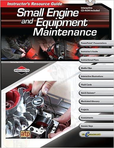 Amazon. Com: small engine and equipment maintenance instructor's.