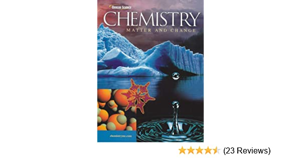 Chemistry Matter Change Student Edition