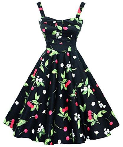 cherry retro dress - 5