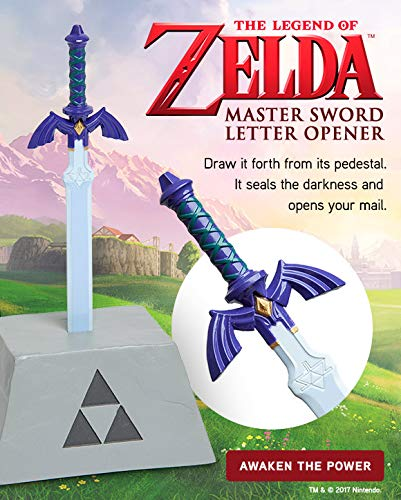 Legend of Zelda Master Sword Letter Opener Officially Licensed (Pedestal Sword)