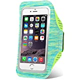 Phone Arm Band, Gym Phone Holder for Arm,iPhone Arm Case for iPhone 7 Plus Armband,iPhone 8 Plus Armband,iPhone 6 Plus Workout Band,Running Armband iPhone 6S Plus/Samsung Galaxy S7 Edge/J7/LG-5.5 Inch