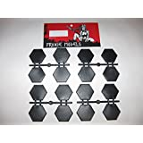 8 x ONE INCH HEX BASES //6MM 10MM SCALE//CAV STRIKE OPERATION //REAPER G55
