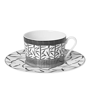 sélection premium efba7 e7ffd Table Passion - Tasse the 22 cl porcelaine decor madras gris ...