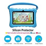 Kids Tablets pc 7 Android Kids Tablet for Kids Learning Tablet Quad Core with WiFi Dual Camera IPS Safety Eye Protection Screen 1GB 8GB Storage(Without case