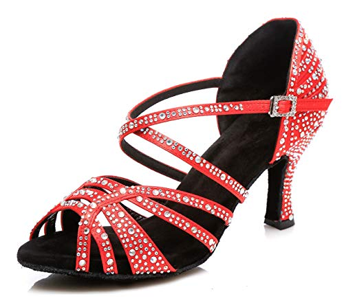 Rosso 8 Heel 3cm red Minitoouk Sala 35 Donna l356 Da Minitoo 7Zw0XF
