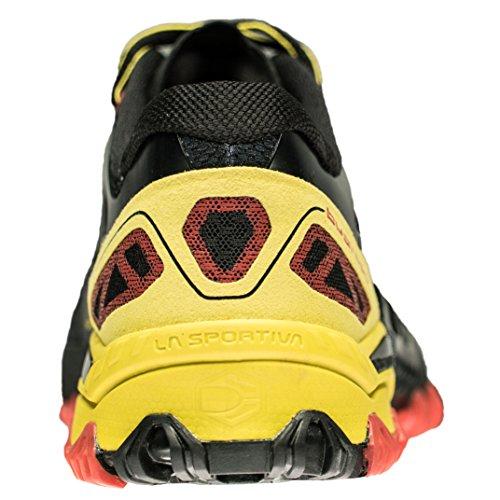 La multicolore Sportiva Scarpe nero giallo sportive nere 000 uomo TqxA57xO