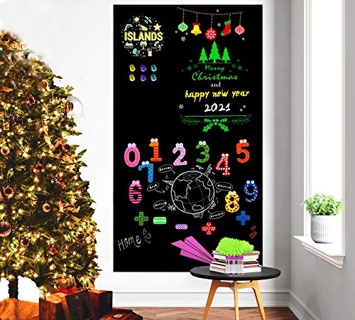 Magnetic Chalkboard Contact Paper for Wall, 40