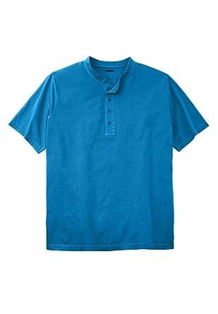 3d1640f2faa KingSize Men s Big   Tall Shrink-Less Lightweight Henley T-Shirt at ...