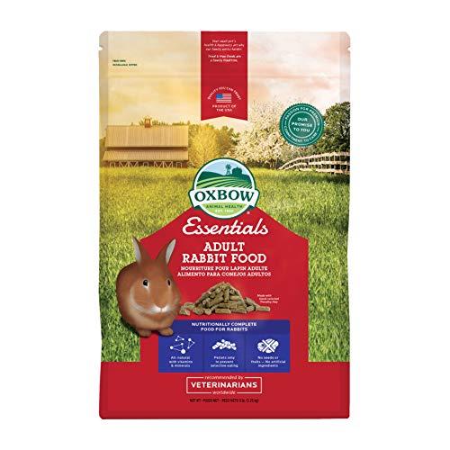 Oxbow Bunny Basics Adult Rabbit Food (Timothy Based), 5-Pound Bag ()