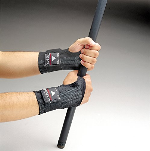 Allegro 7212-03 - Dual Flex Wrist Support, Thumb Design: No Thumb Loop/Strap, Wrist Type: Left or Right, Size: ()