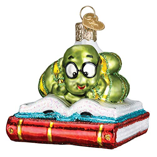 Old World Christmas Bookworm Ornament product image