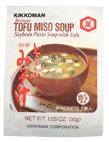 Kikkoman Miso Soup Tofu Instant, 1.05-Ounce Units (Pack o...