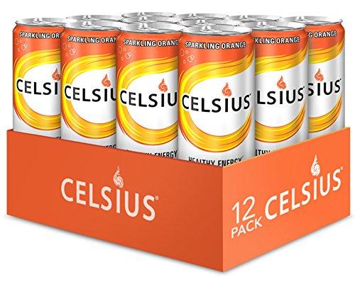 Celsius Sparkling Orange, 12-Ounce
