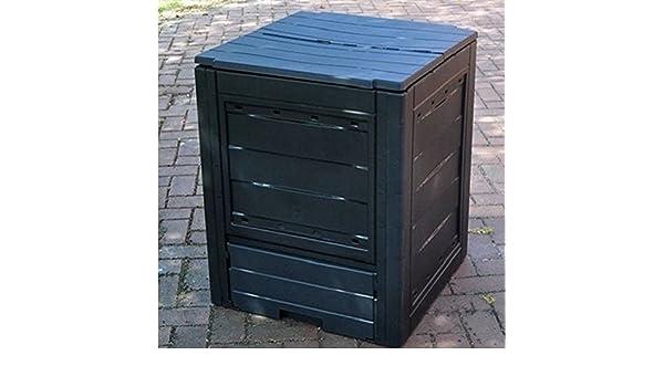 Garden Eco Cubo para compost 260L capacidad Tacho caja de ...