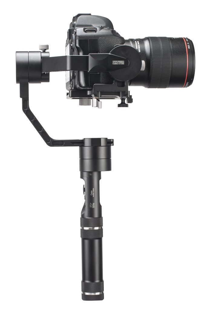 Zhiyun Crane V2 | 3-Axis Handheld Gimbal for DSLR & Mirrorless Cameras, CNC Aluminum Alloy Construction w/ 360° Brushless Motors, 1-Year Warranty by Zhiyun