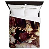 CafePress Edgar Degas Stage Trial Queen Duvet Cover, Printed Comforter Cover, Unique Bedding, Microfiber